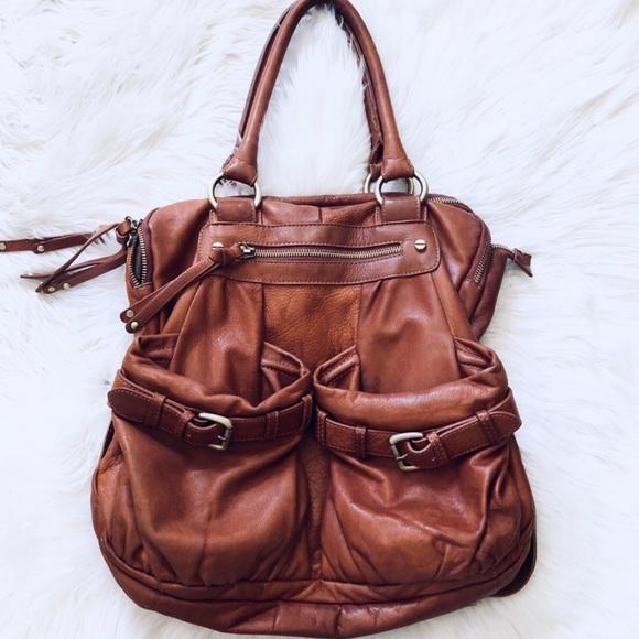 Anthropologie Handbags - Sabina Leather pocket tote 4a8061c46a31f